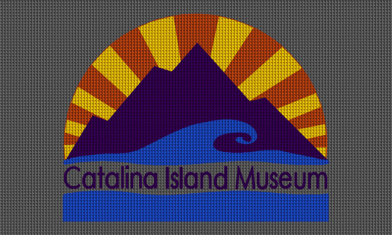 Catalina Island Museum 3 x 5 Waterhog Impressions - The Personalized Doormats Company