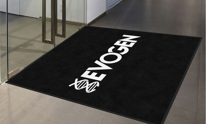 Evogen 6 X 6 Rubber Backed Carpeted HD - The Personalized Doormats Company