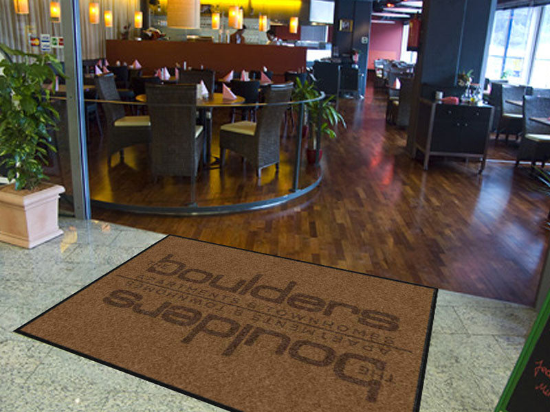 Executive Hotel Management #4 6 X 8 Rubber Backed Carpeted HD - The Personalized Doormats Company