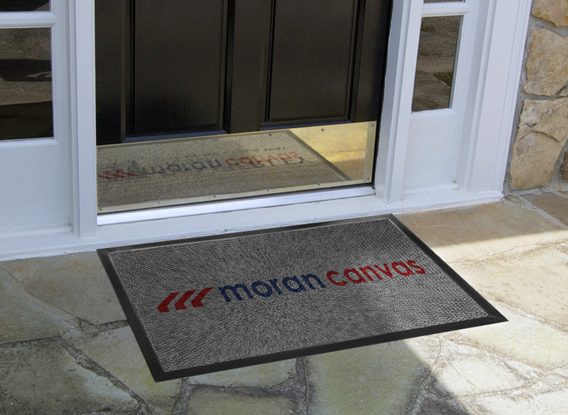 Moran Canvas Logo Mat 2