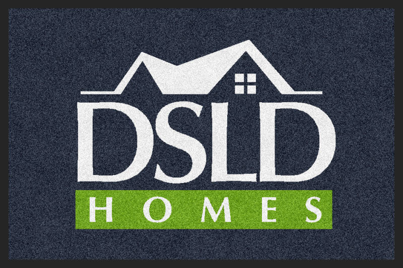 DSLD Homes New 2 X 3 Rubber Backed Carpeted HD - The Personalized Doormats Company