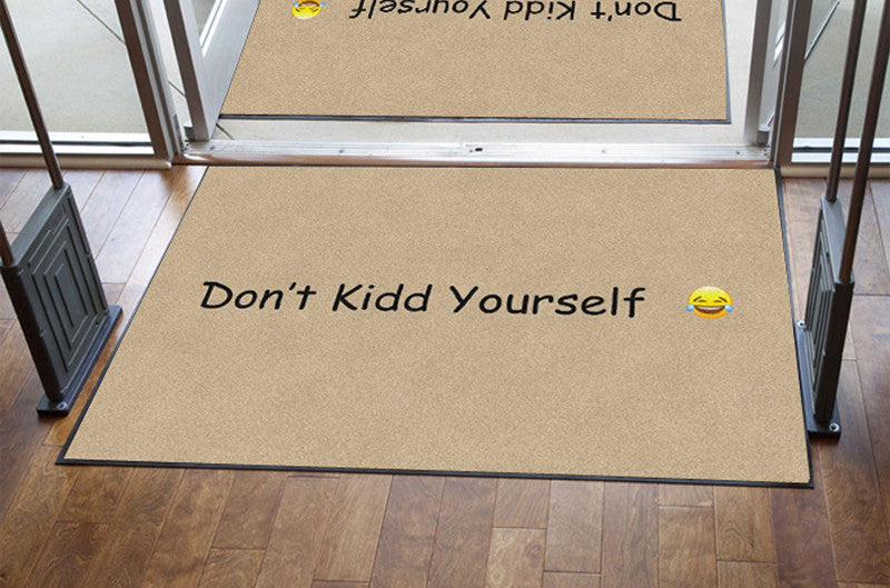 Doormatt Tucker 4 X 6 Rubber Backed Carpeted HD - The Personalized Doormats Company