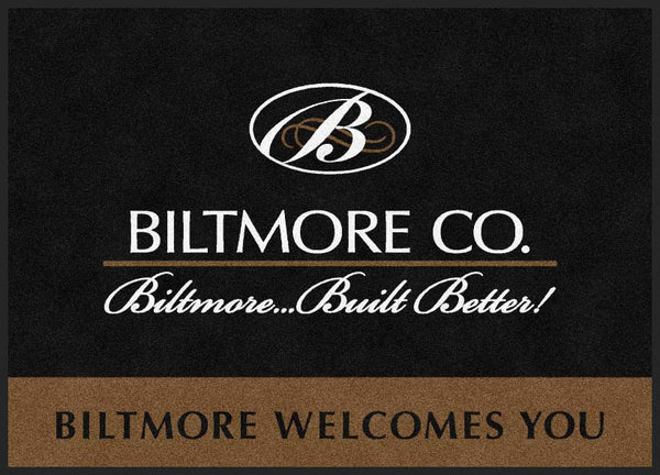 Biltmore door mat : 2 5 X 7 Rubber Backed Carpeted HD - The Personalized Doormats Company