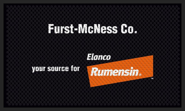 Furst-McNess Co. 3 X 5 Rubber Scraper - The Personalized Doormats Company