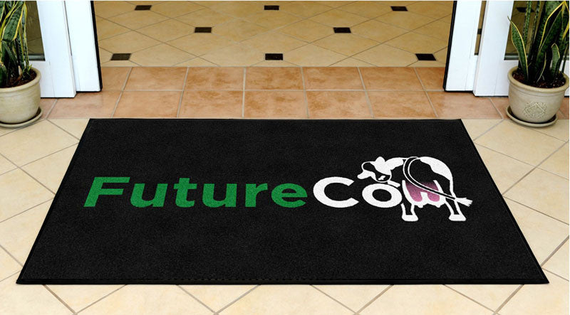 FutureCow 3 X 5 Rubber Backed Carpeted HD - The Personalized Doormats Company