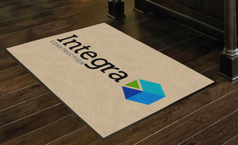 Integra Construction 3 X 4 Rubber Backed Carpeted HD - The Personalized Doormats Company