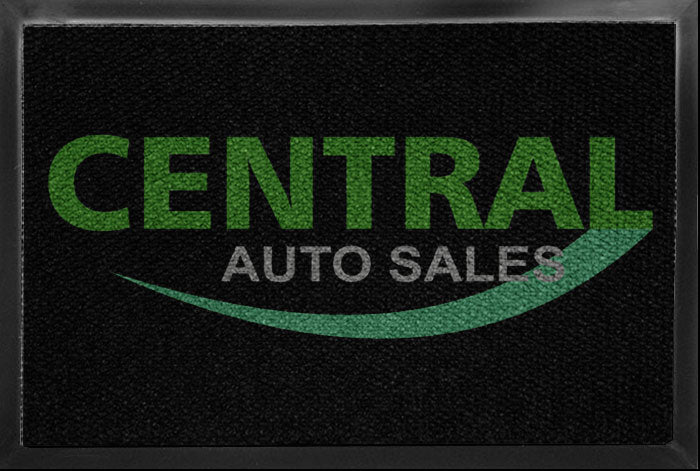 Central Auto Sales 3 X 4 Luxury Berber Inlay - The Personalized Doormats Company