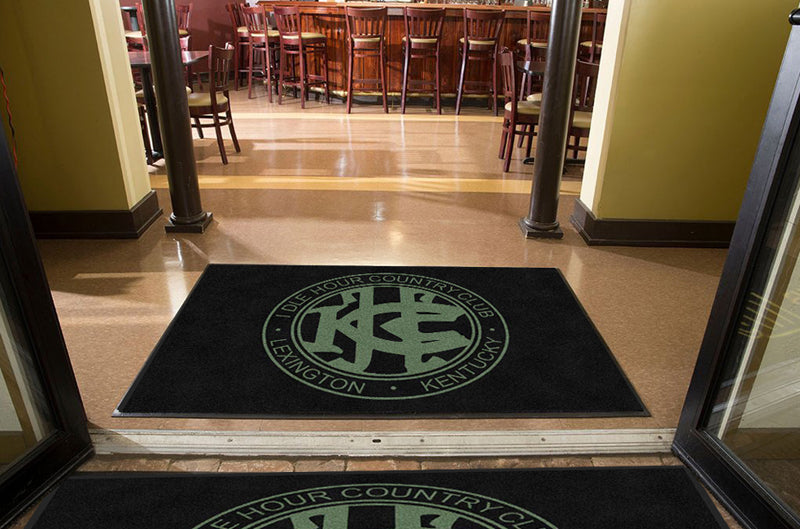 IHCC 4 X 6 Rubber Backed Carpeted HD - The Personalized Doormats Company