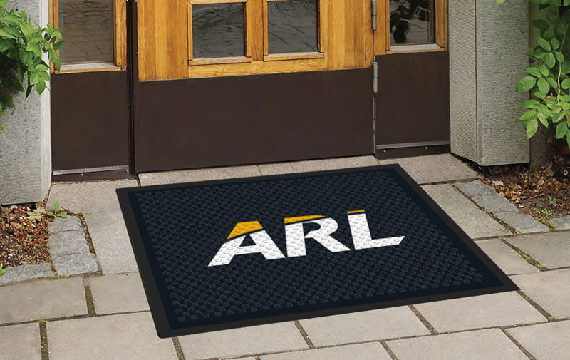 ARL Floor Rug 2.5 X 3 Rubber Scraper - The Personalized Doormats Company