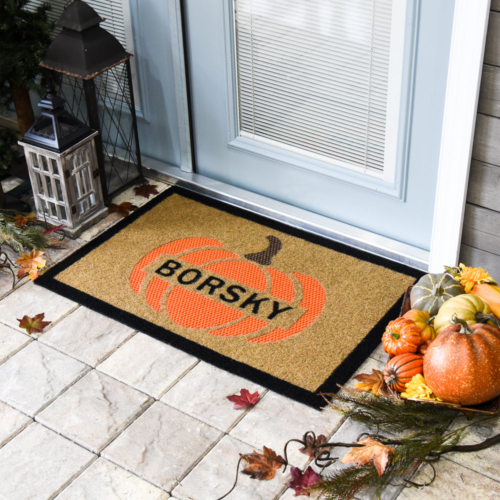 Fall Pumpkin DuraColor Doormat