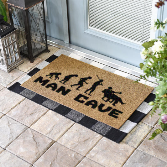 Man Cave Evolution Coir Doormat