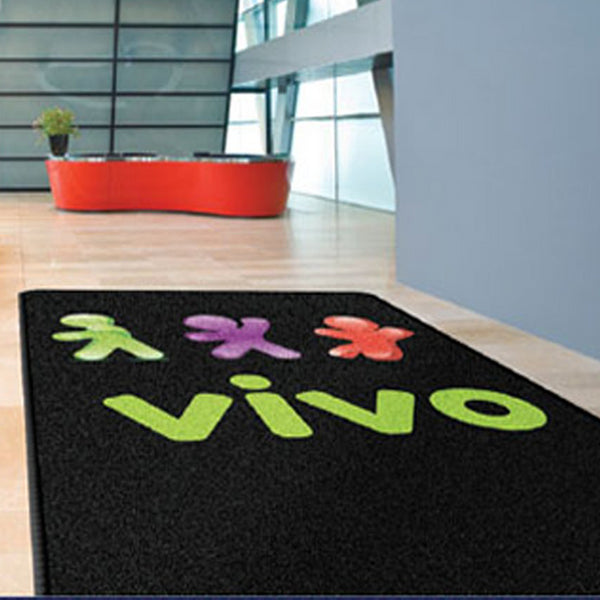 Plush Indoor Carpeted HD Logomat