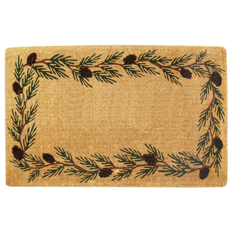 luxury-coir-evergreen-border-doormat-blank