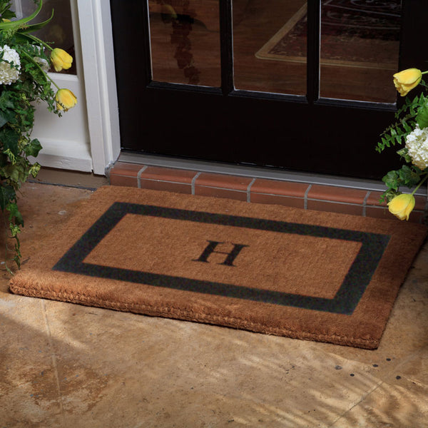 Luxury Coco Coir Single Border Doormat