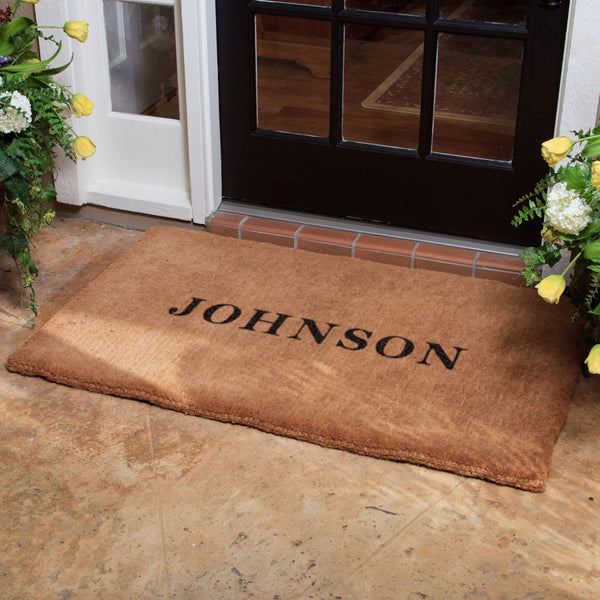 Luxury Coir No Border Doormat
