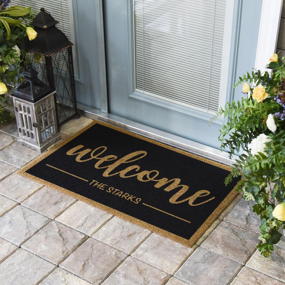 Duracoir Inlay Personalized | Welcome Duracoir Inlay | Doormats Direct