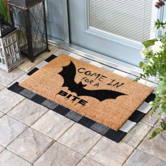 Come In For A Bite Doormat