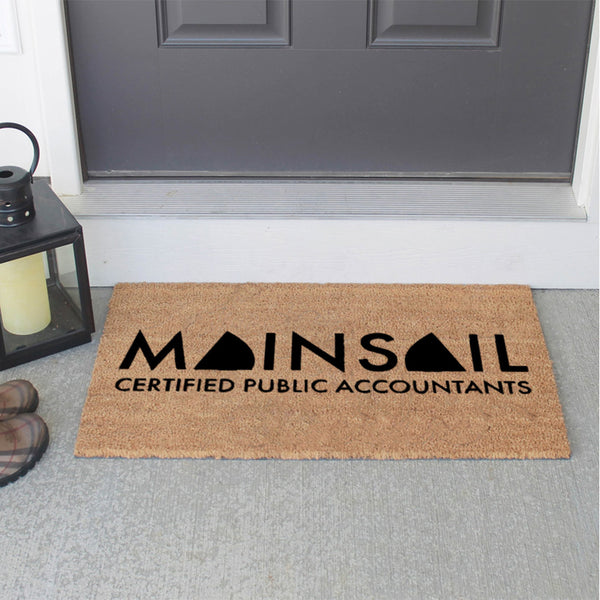 Create Your Own 18 x 30 Classic Coir Logo Mat | Add Your Logo To Our Classic Coir Mats Classic Coir - The Personalized Doormats Company