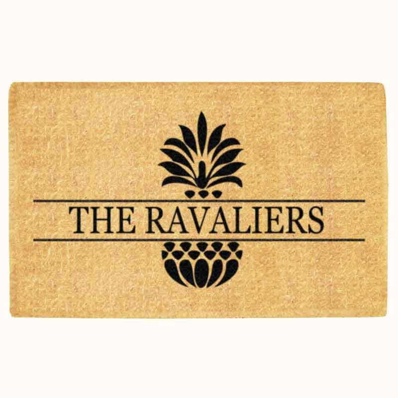 "Luxury Coir Signature Series Ohana Doormat Personalized 22"" x 36"""