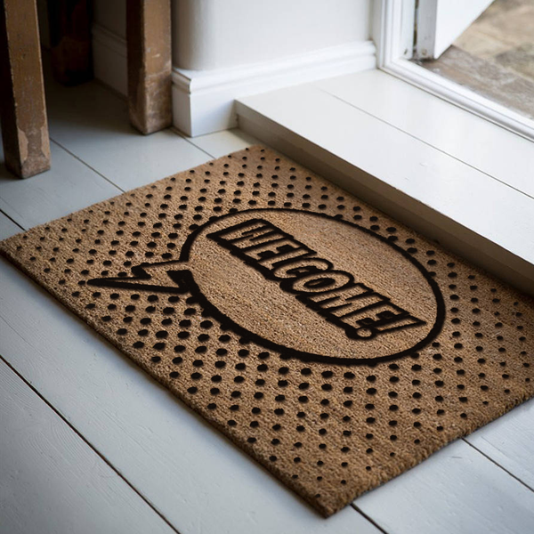 18 x 30 Classic Coir Doormat Welcome Humorous Welcome Mat - The Personalized Doormats Company