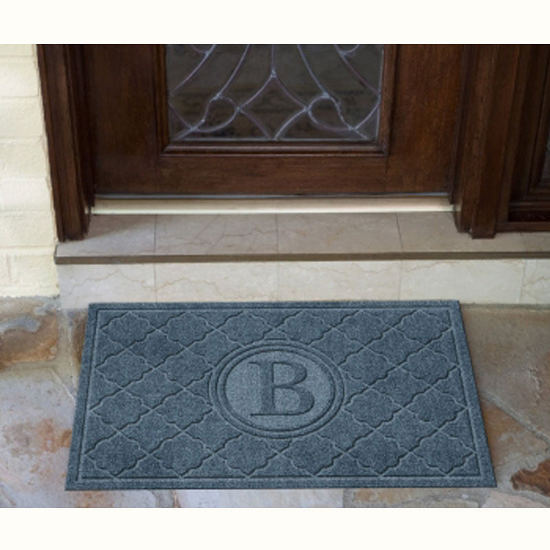 Carpeted Waterhog Doormat Prestige Waterloc Monogrammed Carpeted Waterhog - The Personalized Doormats Company