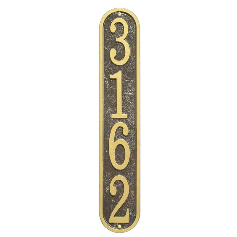Fast & Easy House Number Plaques Fast & Easy - The Personalized Doormats Company