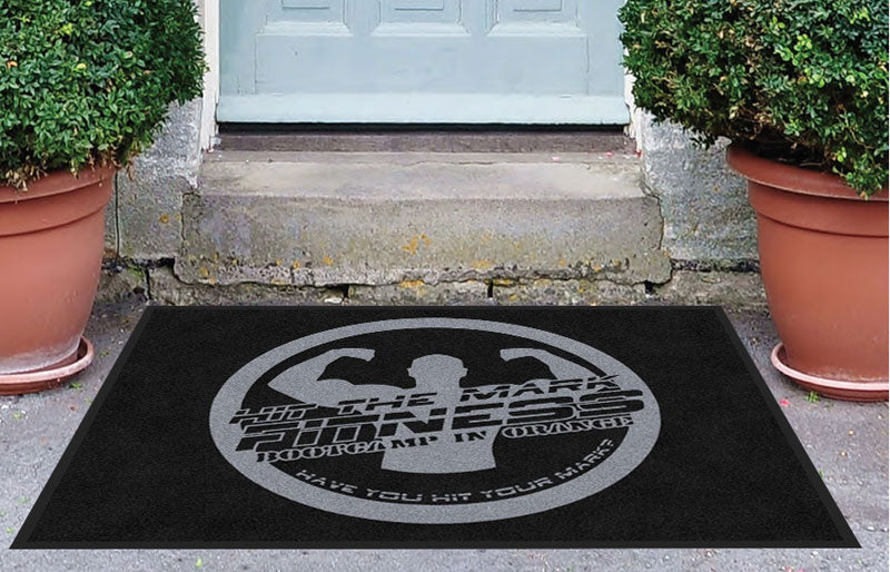 htmf 3 X 4 Rubber Backed Carpeted HD - The Personalized Doormats Company