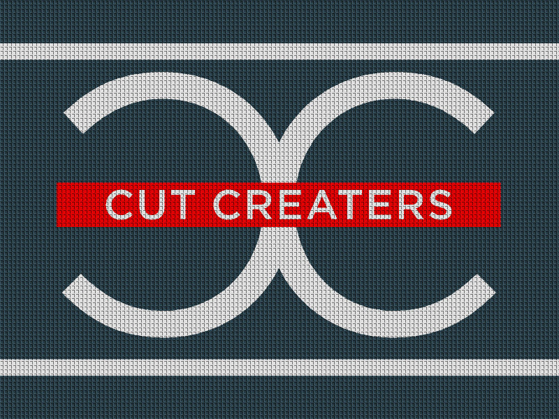 Cut Creaters Salon & Suites 6 x 8 Waterhog Inlay - The Personalized Doormats Company