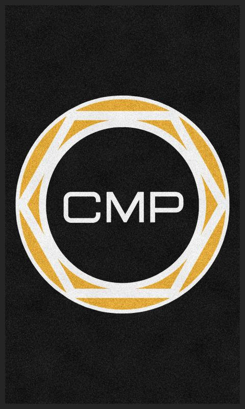 CMP 3 X 5 Rubber Backed Carpeted HD - The Personalized Doormats Company
