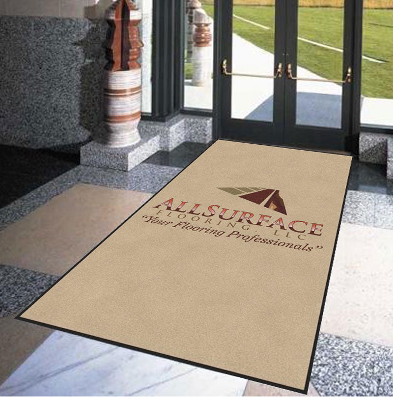 All Surface Flooring3 6 X 10 Rubber Backed Carpeted HD - The Personalized Doormats Company