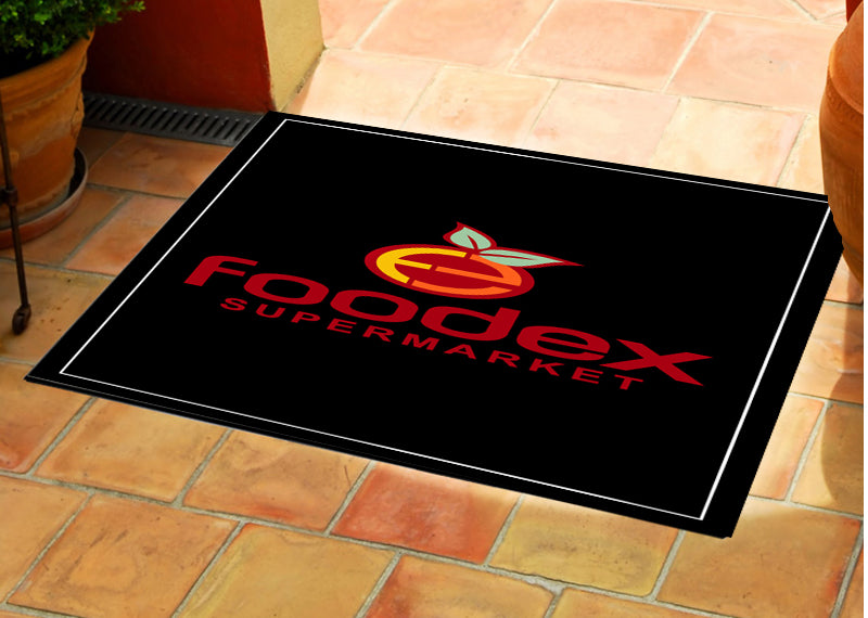 Hamburg Inn No. 2 (again) 2 X 3 Rubber Backed Carpeted - The Personalized Doormats Company