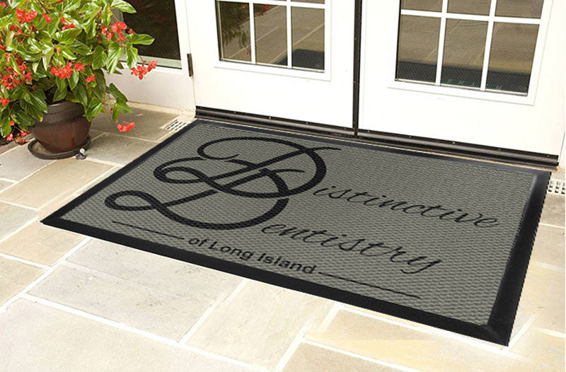 Distinctive Dentistry 4 X 6 Luxury Berber Inlay - The Personalized Doormats Company
