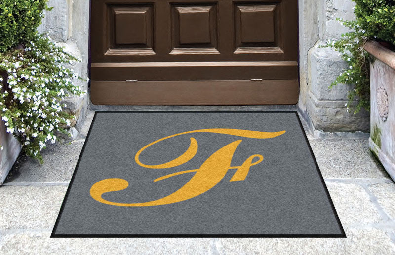 FINE 3 X 3 Rubber Backed Carpeted HD - The Personalized Doormats Company