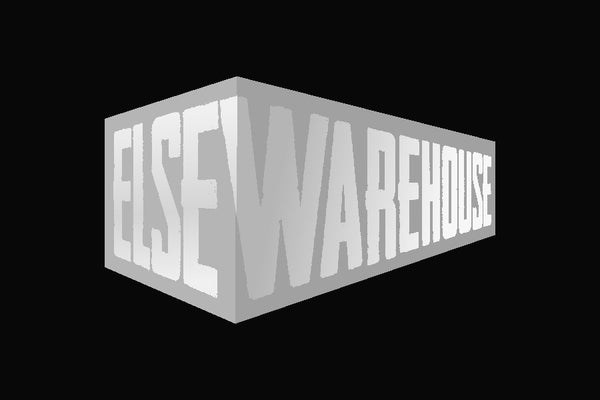 Else Logo 4 x 6 Rubber Scraper - The Personalized Doormats Company