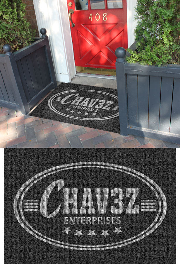 Chavez 3 x 4 Waterhog Impressions - The Personalized Doormats Company