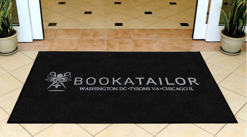 Book A Tailor 3 X 5 Rubber Backed Carpeted HD - The Personalized Doormats Company