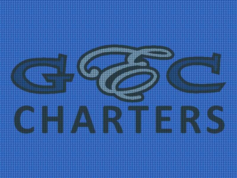 GECCHARTERS 3 x 4 Waterhog Inlay - The Personalized Doormats Company