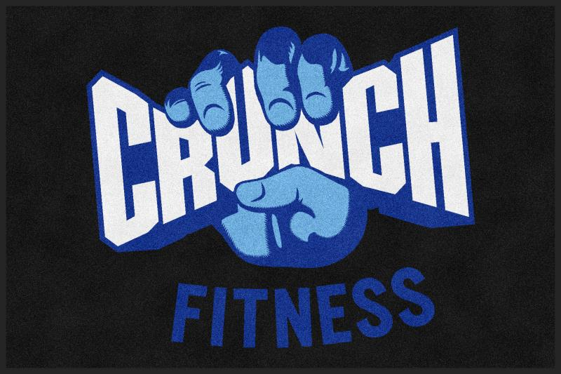 Crunch Fir Fit 1 4 X 6 Rubber Backed Carpeted HD - The Personalized Doormats Company