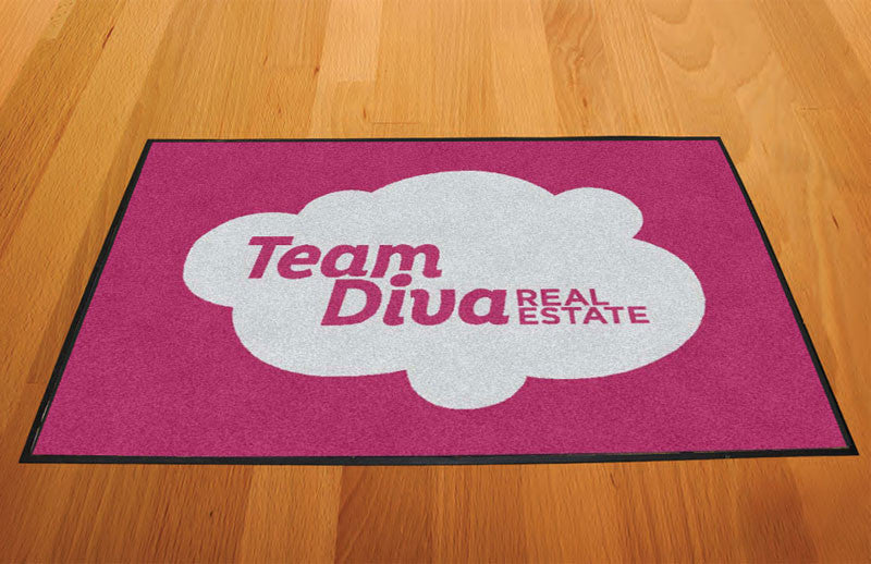 Team Diva Door Mat