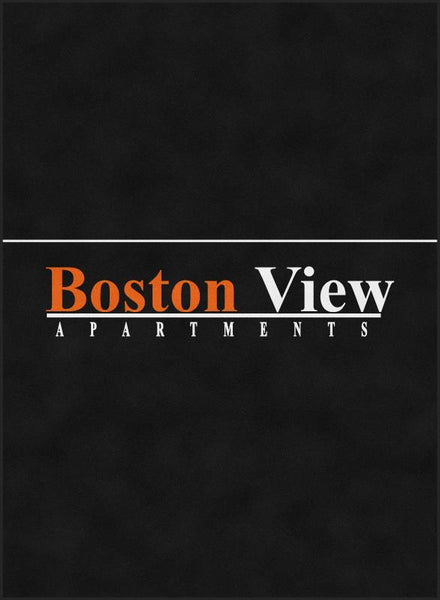 BostonView2 11 X 15 Rubber Backed Carpeted (XL 65mil) - The Personalized Doormats Company