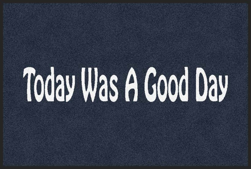 Good Day 2 X 3 Rubber Backed Carpeted HD - The Personalized Doormats Company
