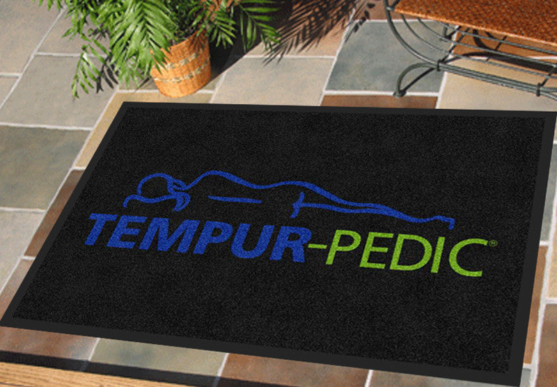 Eric Truesdale 2 X 3 Rubber Backed Carpeted HD - The Personalized Doormats Company