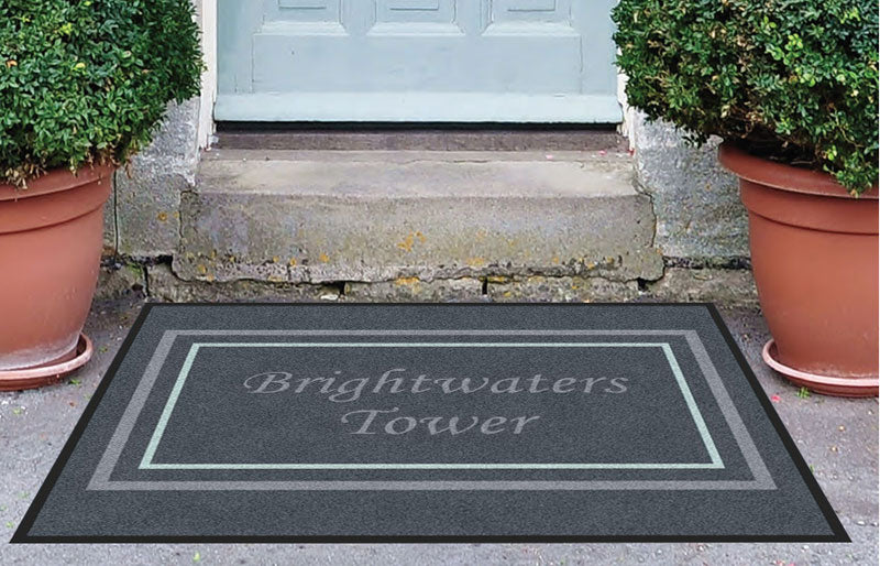 BWT 3 X 4 Rubber Backed Carpeted HD - The Personalized Doormats Company