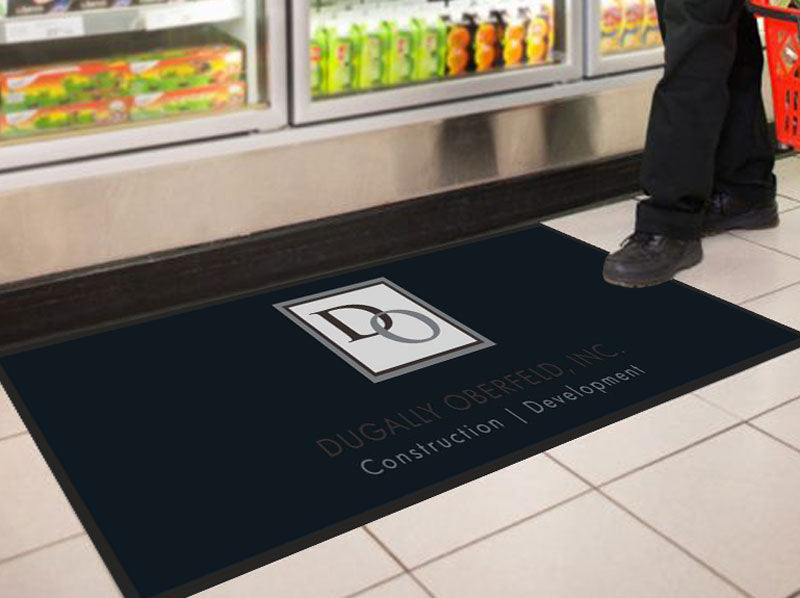 DO Floor Impressions Mat 2 X 5 Floor Impression - The Personalized Doormats Company