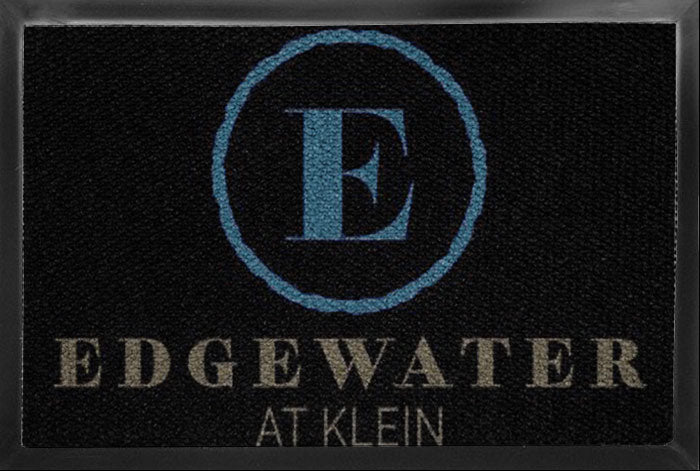 Edgewater - back door 2 X 3 Luxury Berber Inlay - The Personalized Doormats Company