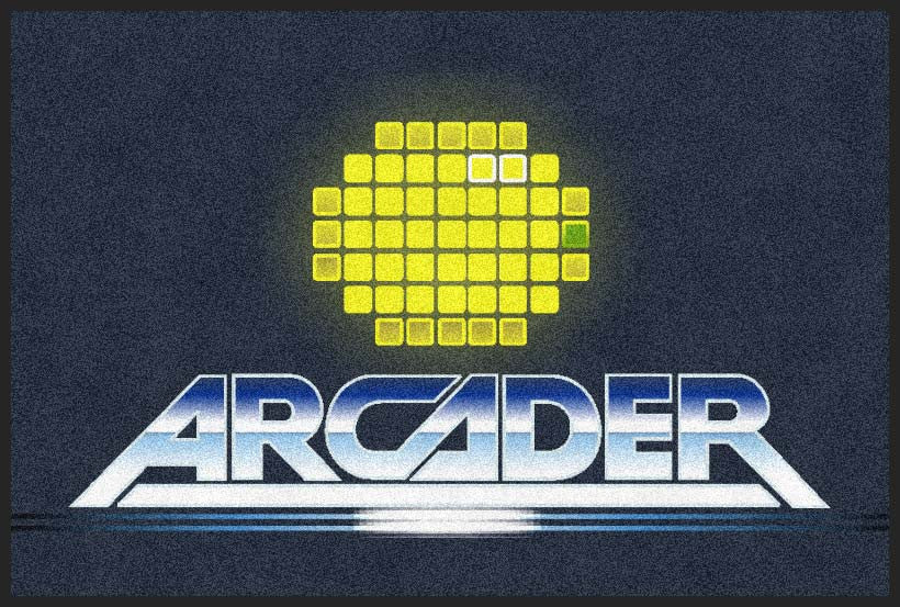 Arcaders 2 X 3 Rubber Backed Carpeted HD - The Personalized Doormats Company