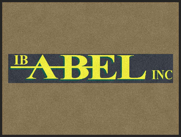 I.B. Abel 3 x 4 Rubber Backed Carpeted HD - The Personalized Doormats Company