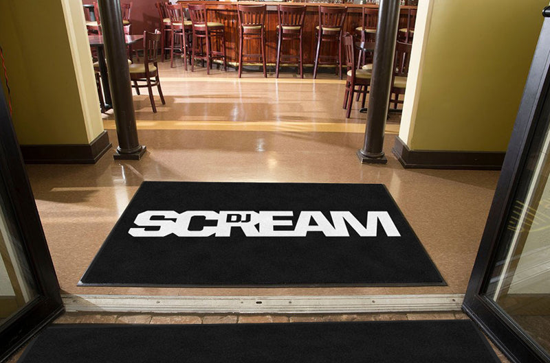 Hoodrich Ent 4 X 6 Rubber Backed Carpeted HD - The Personalized Doormats Company