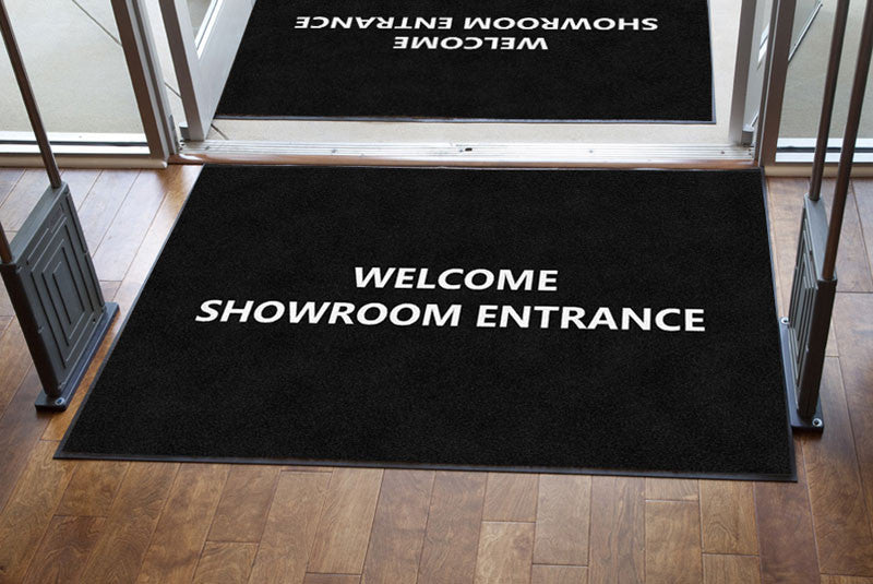 Furniture Divano 4 X 6 Rubber Backed Carpeted HD - The Personalized Doormats Company