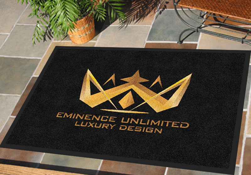 Eminence Unlimited 2 X 3 Rubber Backed Carpeted HD - The Personalized Doormats Company
